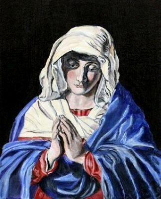 Virgin Praying