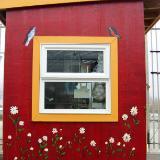 Cash hut in garden center