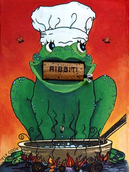FLY COOK RIBBIT