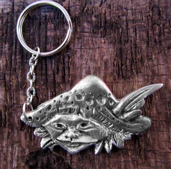 Pixie Goblin keyring or keychain goblin keyfob SALE