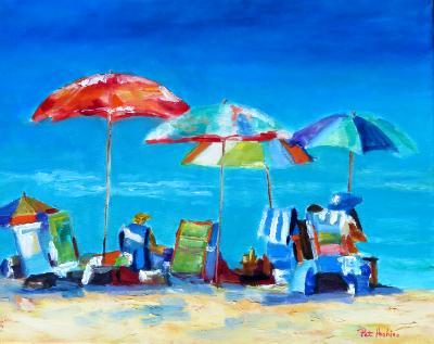Beach Day - 0il - 16x20 SOLD