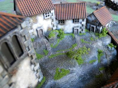 Spanish Monastery 15mm  ( scratchbuilt and painted by us)
