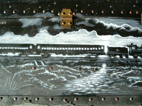 Train on McGuffin Trunk