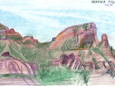 Sedona Hills, Western View
